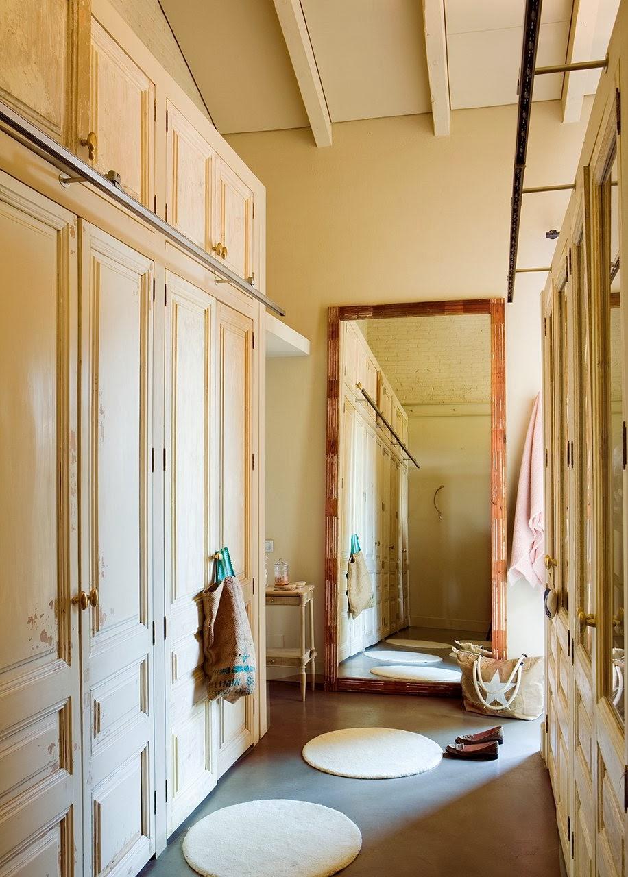 amenajari, interioare, decoratiuni, decor, design interior, amenajare dormitor, feminin, primavaratic, turcoaz, roz , dressing,