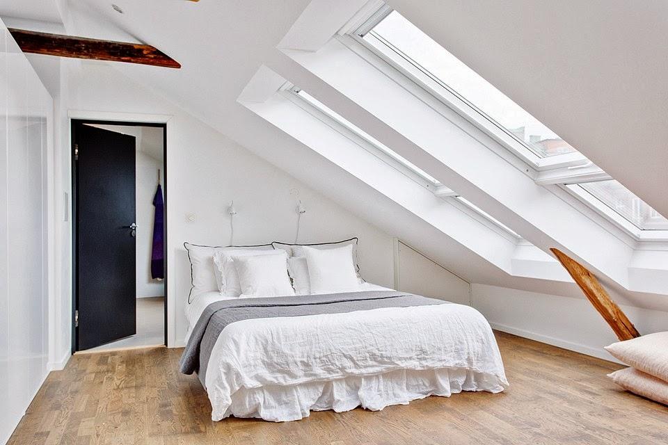 amenajari, interioare, decoratiuni, decor, design interior, duplex, apartament 5 camere, stil scandinav, dormitor