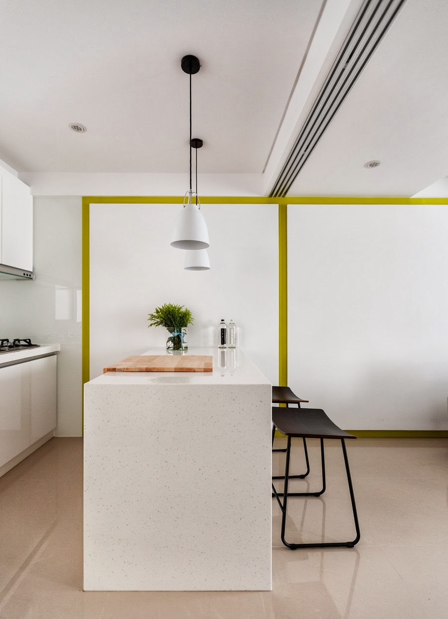 amenajari, interioare, decoratiuni, decor, design interior, colorat, apartament, modern, bar, bucatarie