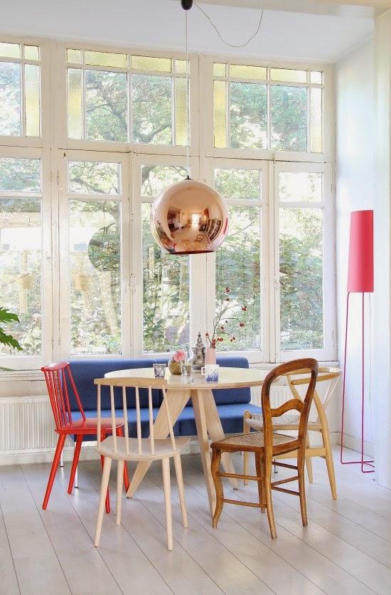 amenajari, interioare, decoratiuni, decor, design interior, pastel, sufragerie
