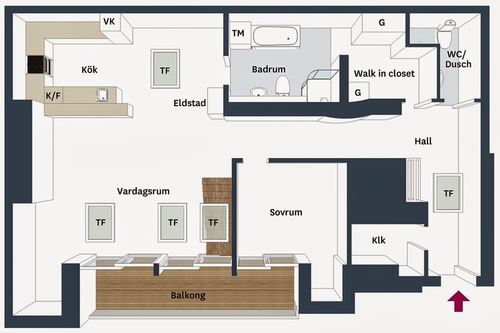 amenajari, interioare, decoratiuni, decor, design interior, penthouse, duplex, plan de amenajare