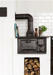 amenajari, interioare, decoratiuni, decor, design interior, bucatarie, rustic, soba pe lemne