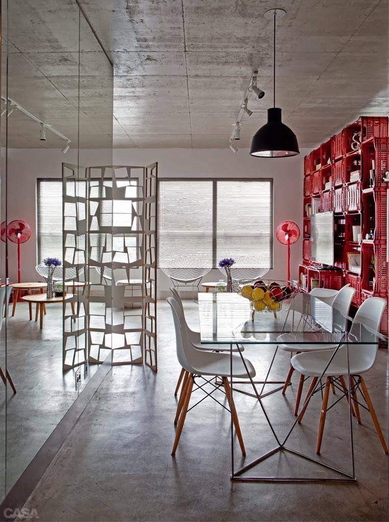 amenajari, interioare, decoratiuni, decor, design interior, rosu, living, sufragerie