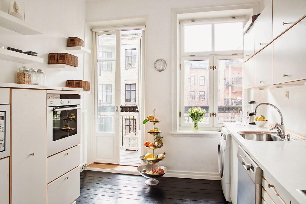 amenajari, interioare, decoratiuni, decor, design interior, stil scandina, apartament 3 camere, bucatarie