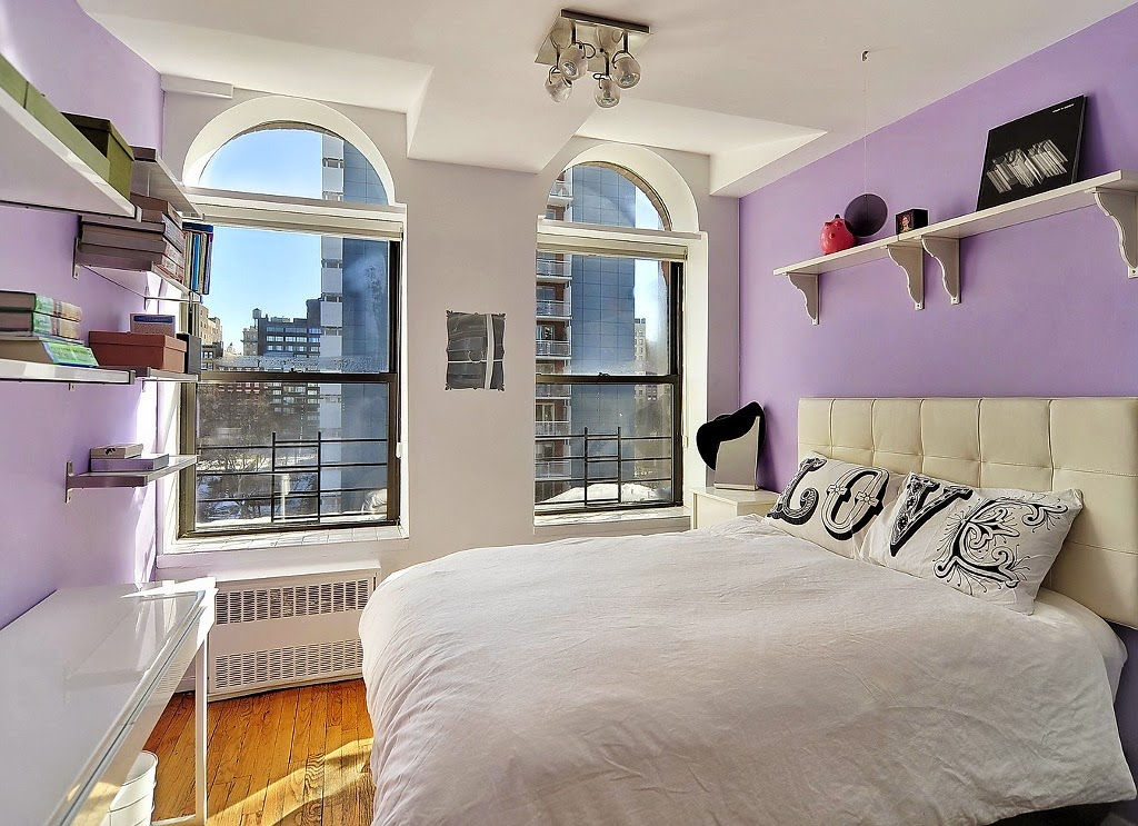 amenajari, interioare, decoratiuni, decor, design interior, loft, perete de caramida, dormitor