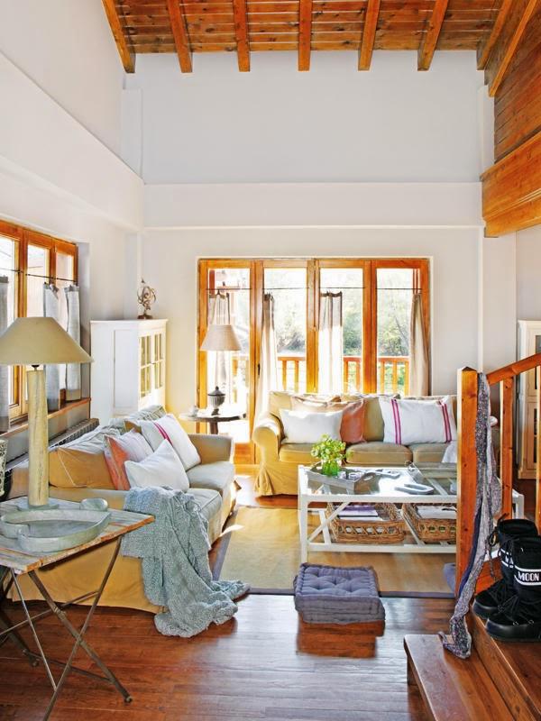 amenajari, interioare, decoratiuni, decor, design interior, rustic, lemn, living,
