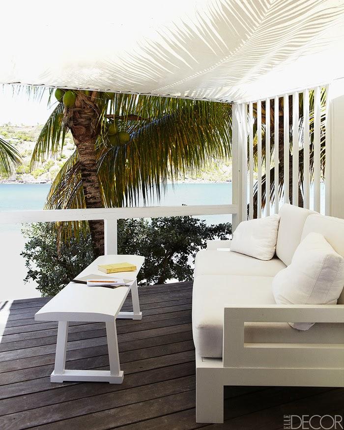 amenajari, interioare, decoratiuni, decor, design interior, casa de vacanta pe plaja, marea caraibelor, terasa