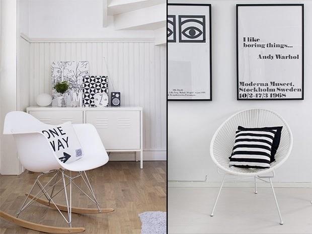 amenajari, interioare, decoratiuni, decor, design interior, stil scandinav, interior amenajat in alb si negru,