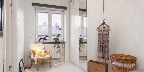 amenajari, interioare, decoratiuni, decor, design interior, stil scandinav, apartament 2 camere, spatii mici, dormitor