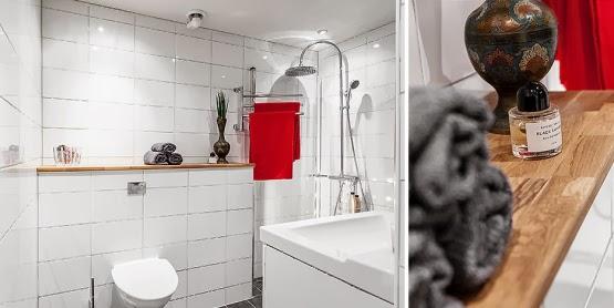 amenajari, interioare, decoratiuni, decor, design interior, stil scandinav, apartament 2 camere, spatii mici, baie