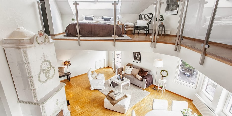 Plan deschis într-un duplex de 81 m²