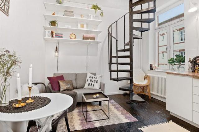 Mini duplex de numai 27 m²