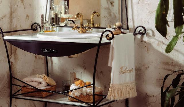 Accente retro și vintage - șic la tine în baie