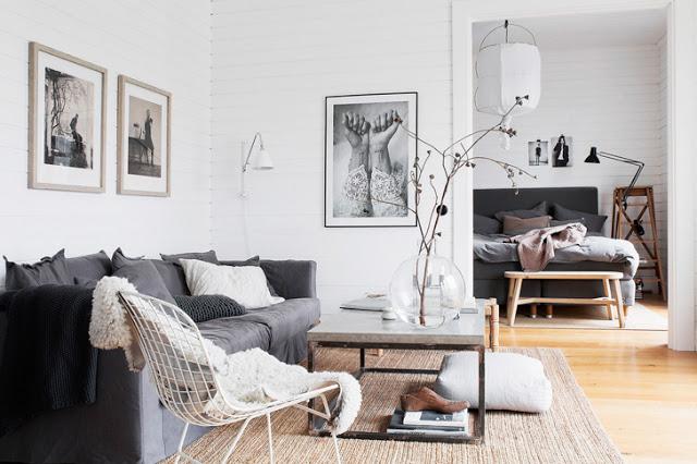 În casa stilistei de interior, Pella Hedeby