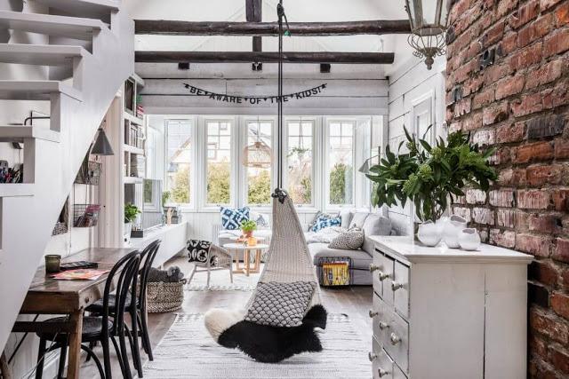 Proiect de amenajare pentru o casă din Stockholm