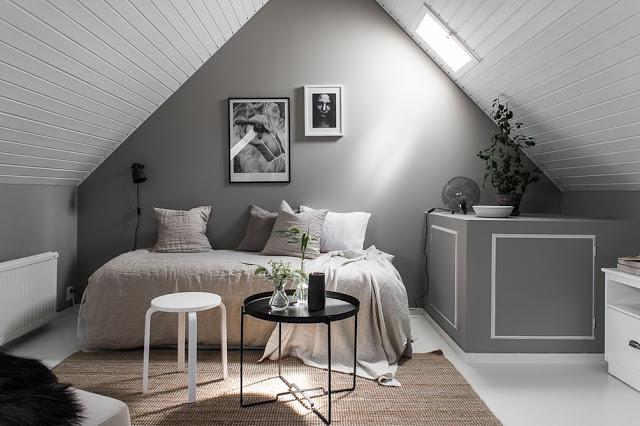 Inspirație în alb, negru și gri