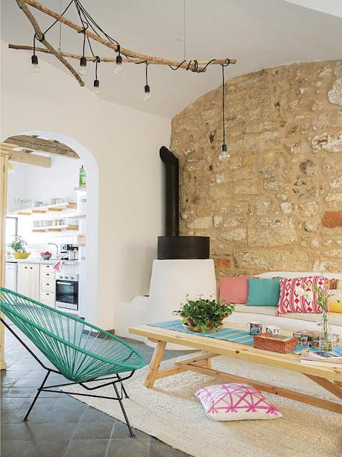 Aromă mediteraneană și accente vesele de culoare