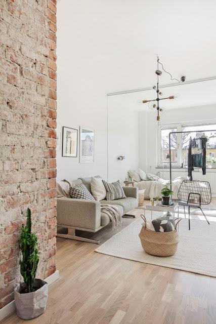 Stil nordic minimal într-o garsonieră de 41 m²
