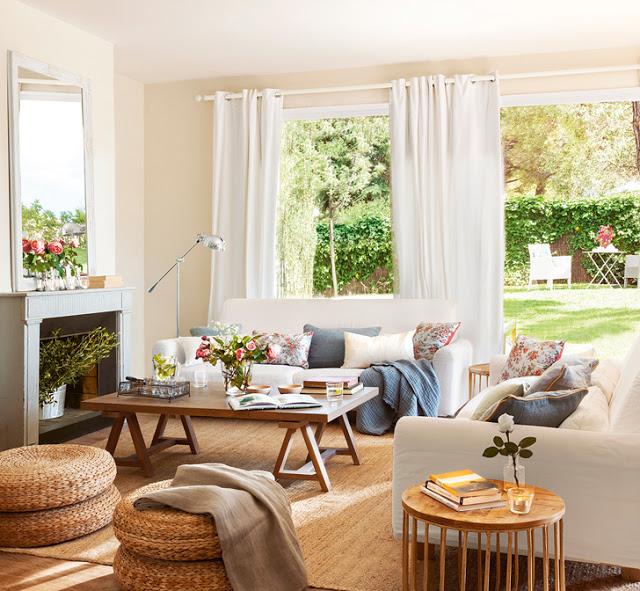 În casa unui designer de interior din Barcelona