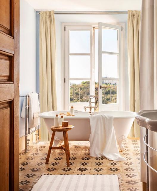 Eleganță mediteraneană în casa unei olandeze