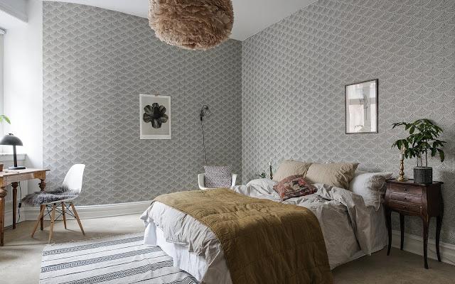 Accente naturale de culoare într-un apartament de 64 m²