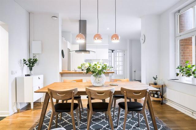 Amenajare nordică într-un apartament de 82 m²