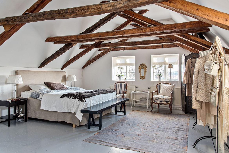 Rustic scandinav într-o casă spațioasă din Suedia