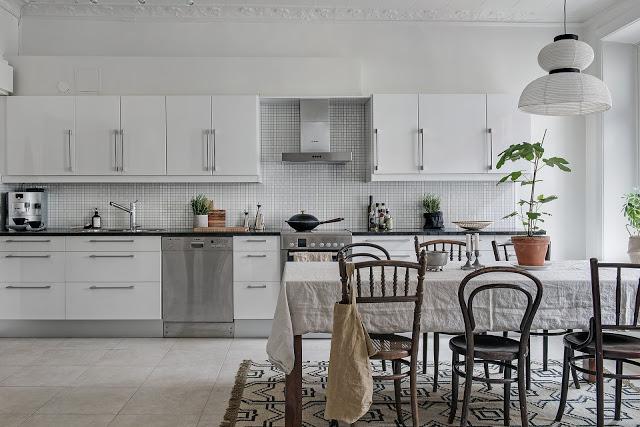 Stil scandinav și texturi naturale într-un apartament de 78 m²