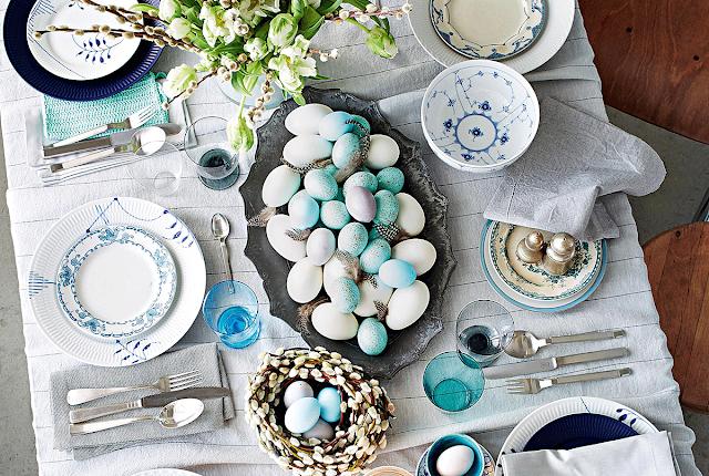 20 de idei pentru decorul mesei de Paște