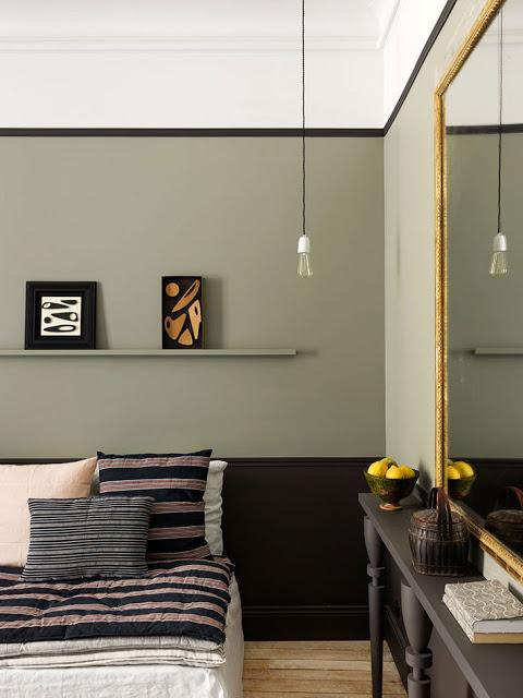 3 tipuri de culori pe perete