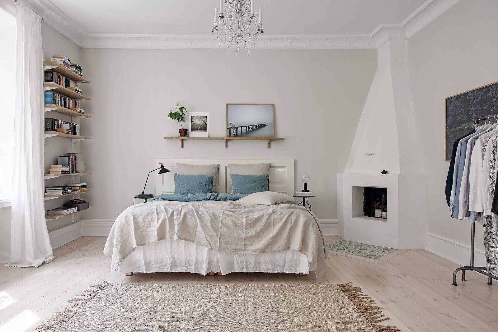 Amenajare interioară scandinavă pentru un apartament de 102 m²