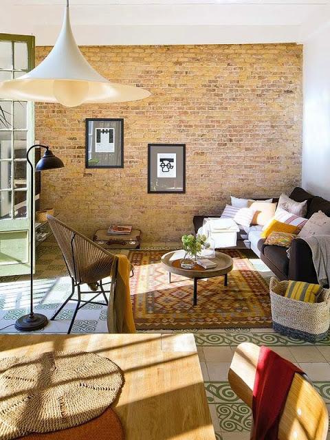 Decor eclectic intr-un apartament de 75 m² plin de personalitate