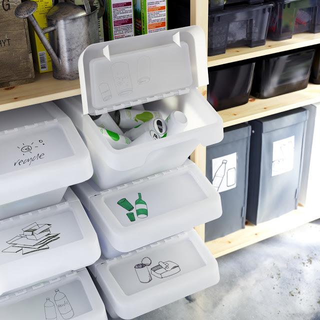 Cosuri albe SORTERA pentru reciclare