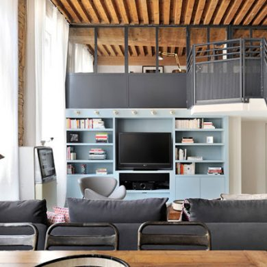 apartament-modern-in-lyon-cu-doua-dormitoare-amenajate-mezanin