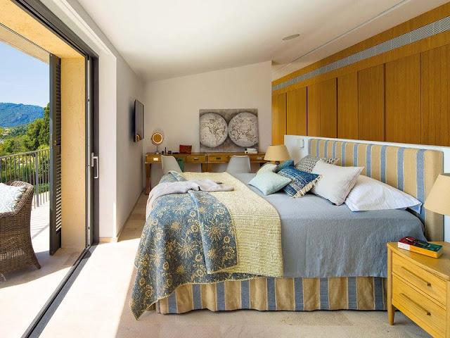 dormitor rustic contemporan mediteranean