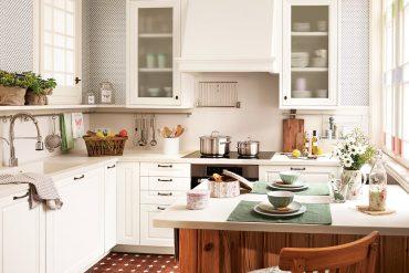 O bucătărie micuță, dar perfectă