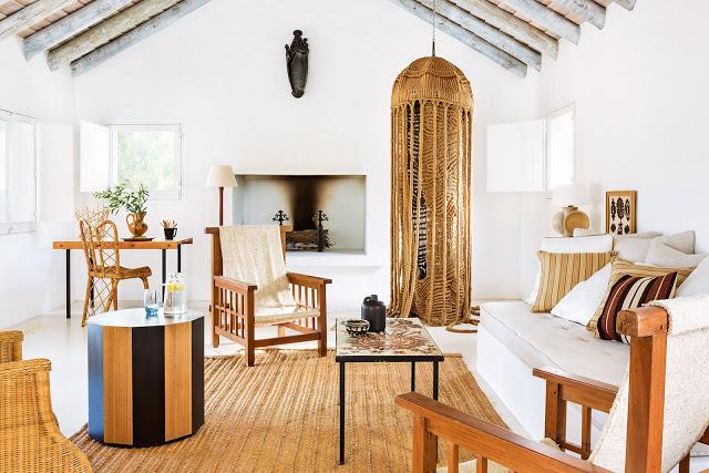 Eleganță în linii simple, naturale în Portugalia