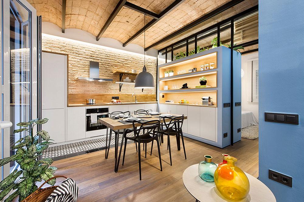 Proiect de amenajare practic și modern pentru un apartament de numai 40 m²