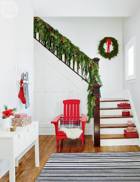 Casă din Lakefield, Canada, pregătită de Crăciun