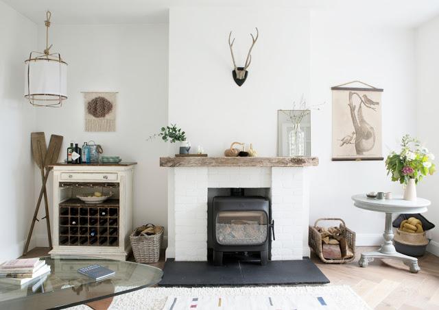Decor scandinav într-o casă la țară din Irlanda