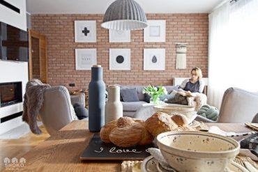 Amenajare scandinavă în tonuri de gri pentru o casă din Polonia