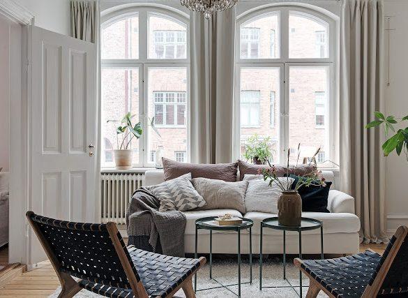 lemn-nefinisat-si-accente-pamantii-in-amenajare-apartament-50-mp