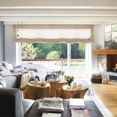 casa-la-munte-decorata-cu-mult-lemn-piatra-gri-inchis