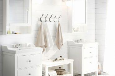 Vrei o baie albă ca zăpada? Află unde găsești baterii albe și cum eviți un decor rece și steril