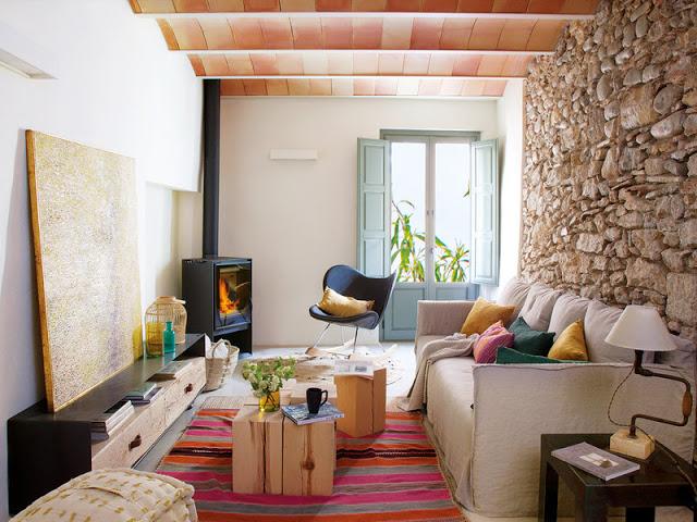 Din ruină în vis - Povestea transformării unei case din Girona, Spania