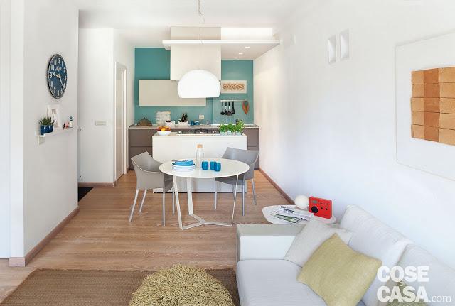 Amenajare practică și modernă pentru un apartament de 3 camere [ 52 m² ]