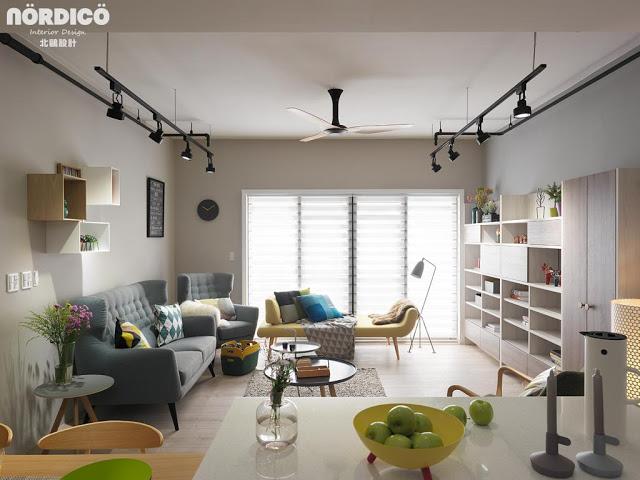 Proiect de amenajare modern pentru un apartament din Taiwan