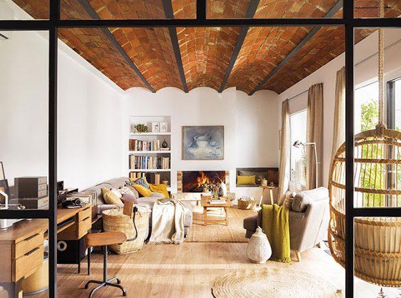 accente-rustice-si-tonuri-naturale-de-culoare-apartament-barcelona