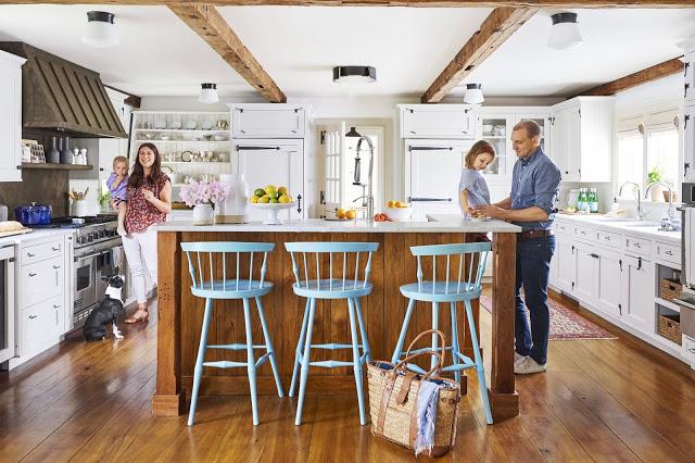 Rustic cu accente marine într-o frumoasă casă de vacanță din Connecticut