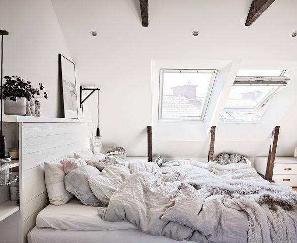 dormitor-la-mansarda-intr-un-apartament-doua-niveluri-suedia-68-mp